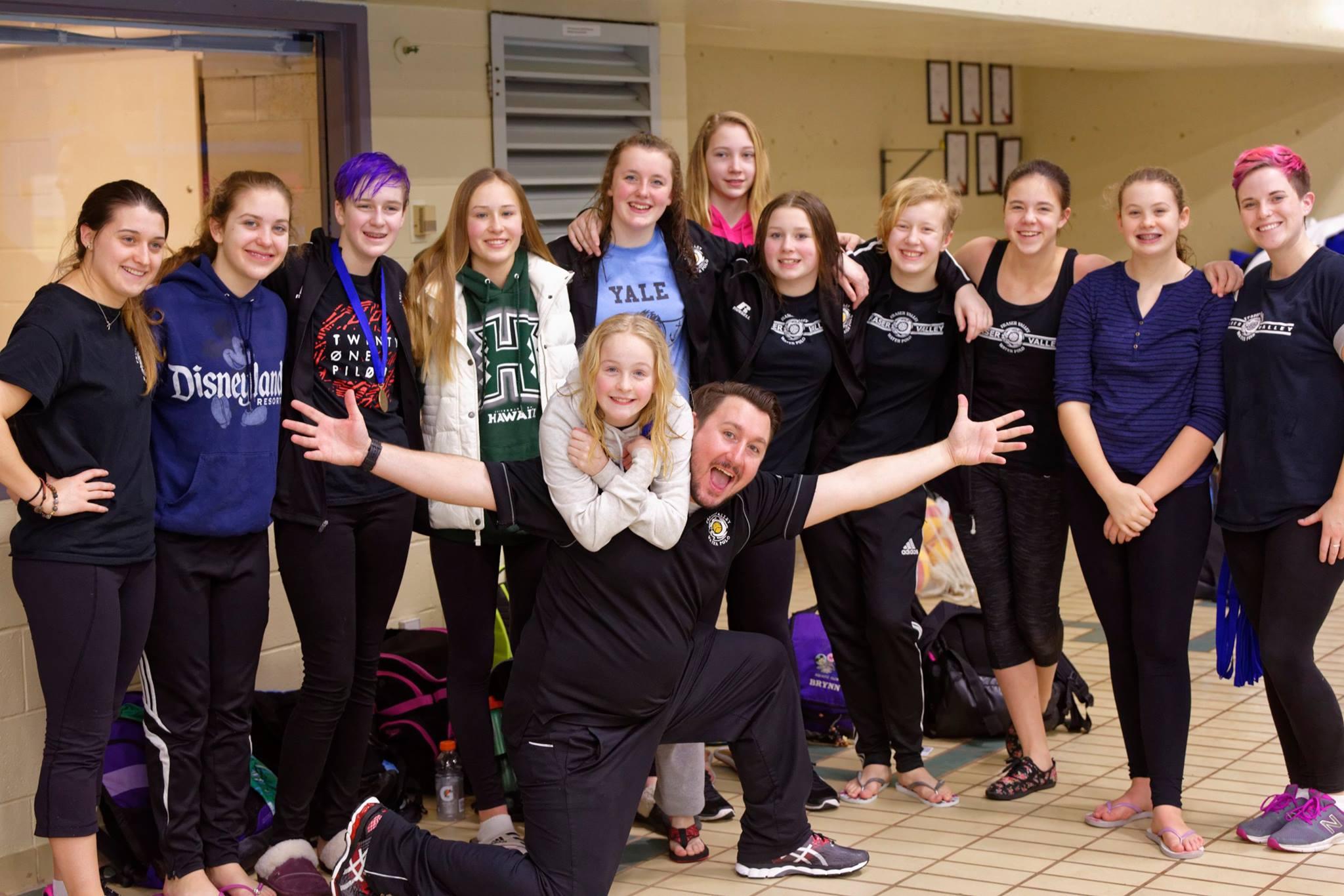 U14 Girls: Bronze medal winners