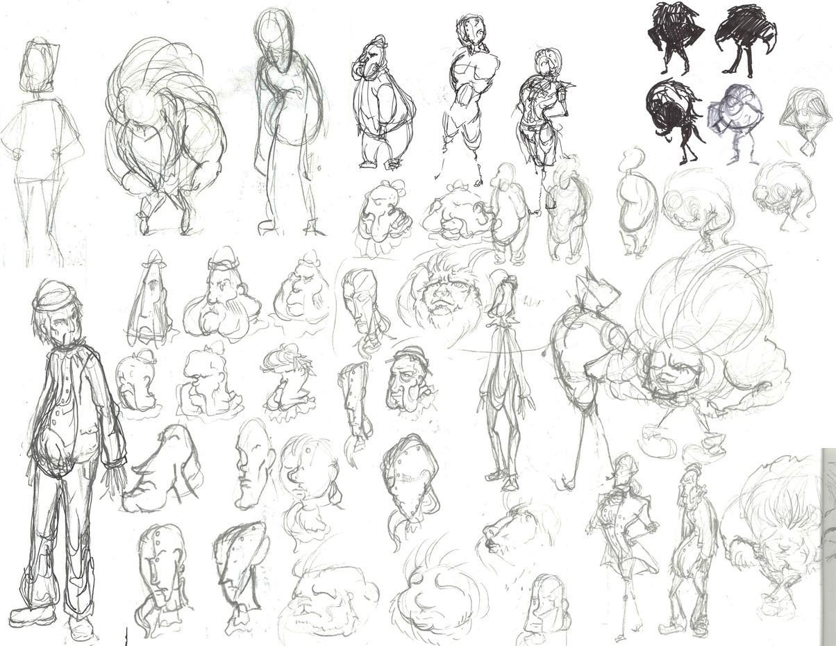 Sketchbook Page 7