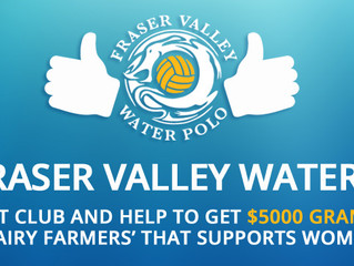 Vote For Fraser Valley Water Polo Club
