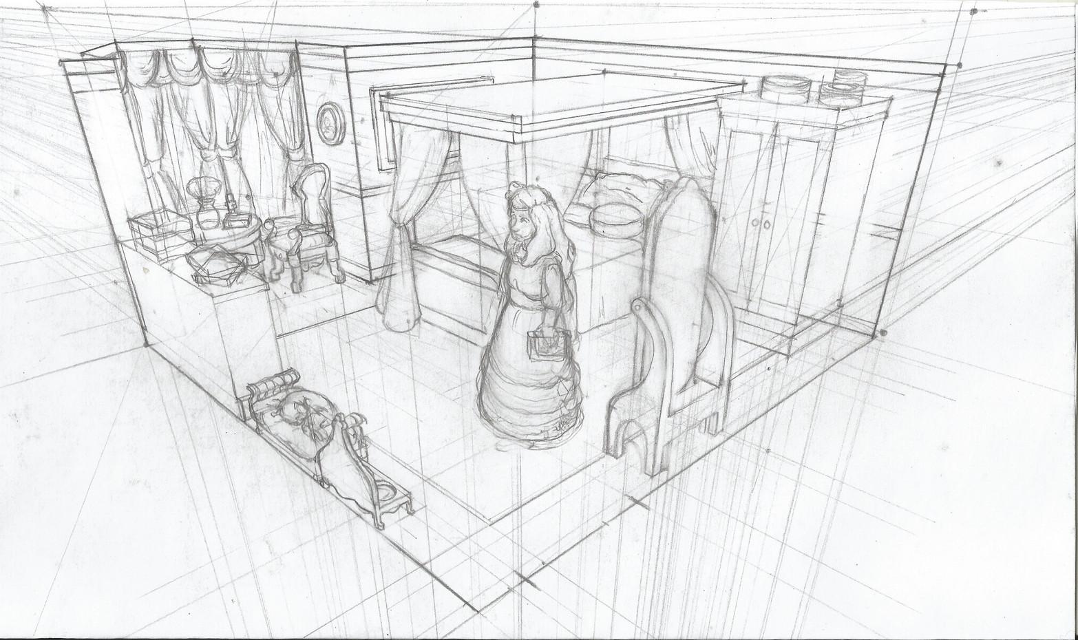 Dorthy Room Sketch