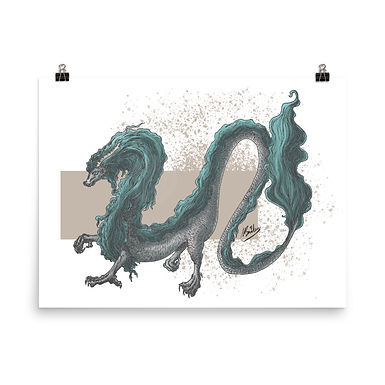 Eastern Dragon Giclée Art Print