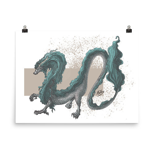 Eastern Dragon Giclée Art Print
