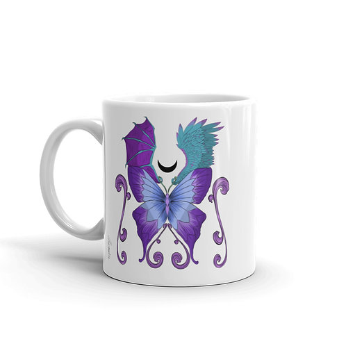 Magic Butterfly Ceramic Mug