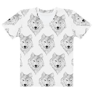 Wolf Sketch Women's T-shirt