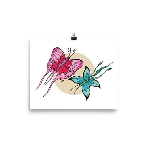 Fantasy Butterflies Giclée Art Print