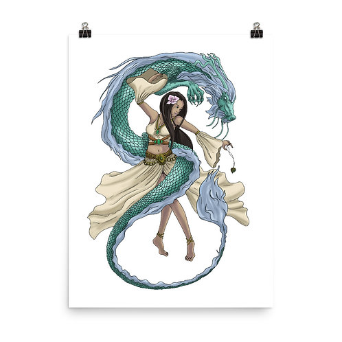 Dragon Dancer Giclée Art Print