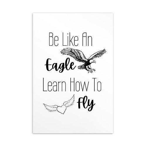Be Like an Eagle Standard Postcard