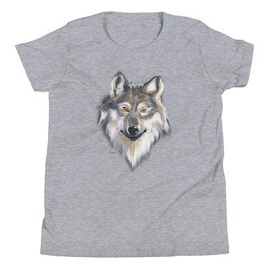 Grey Wolf Children's Short Sleeve T-Shirt