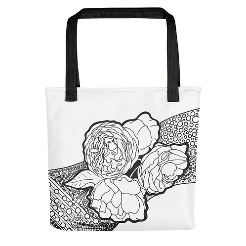Roses Tangle Tote bag