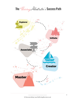 thriving illustrator success path ebook