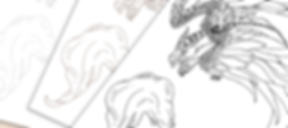 feathered dragon Colouring.png