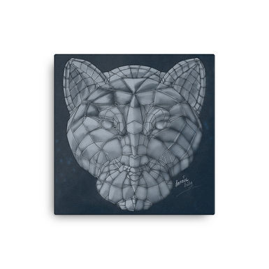 Glass Panther Canvas