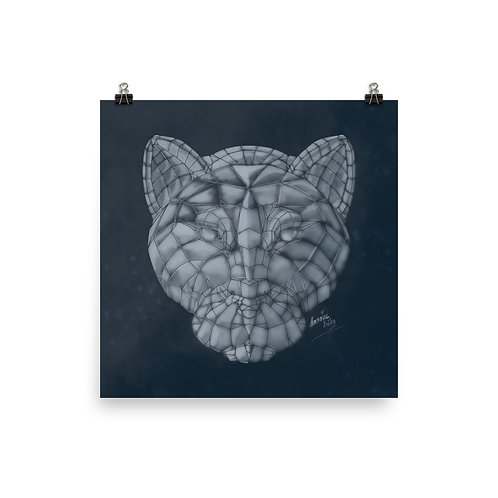 Glass Panther Poster Print
