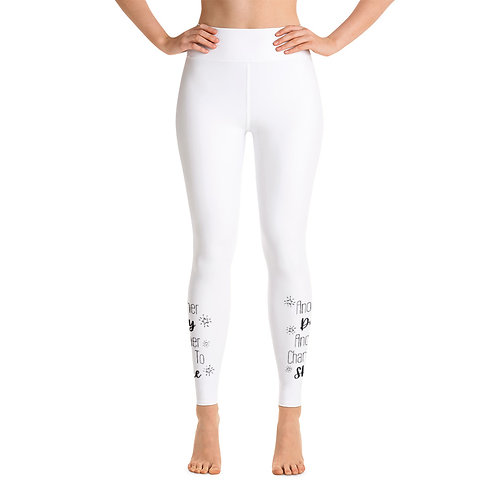 Another Day, Another Chance to Shine Yoga Leggings