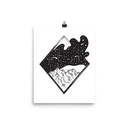 Expanding Night Giclée Art Print