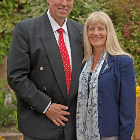Mandy and Steve Brown