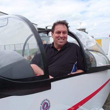 Steve Brown fulfils a dream