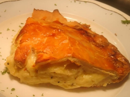 National Pie Week: Cheese & Onion Pie