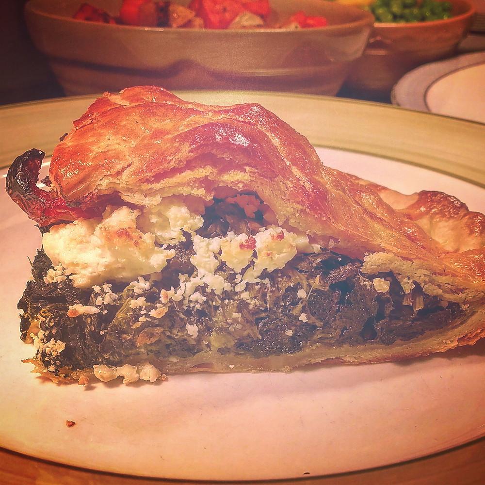 George & Dragon Spinach & Feta Pie