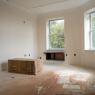 Apartment nearing completion at Bronxview