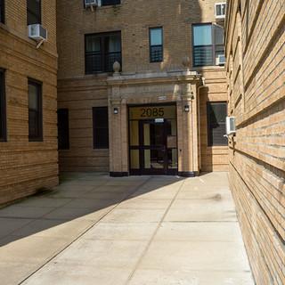 Entrance to 2085 Walton Ave