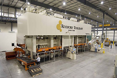RTI 4400 ton stamping press