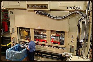 Heavy Gauge Stamping Equipment