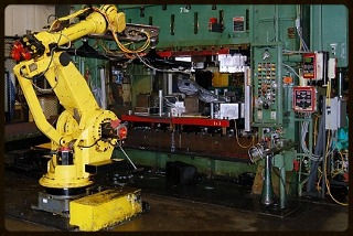 Fanuc Robotic Parts Loader