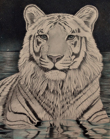 White Tiger of the Western Skies