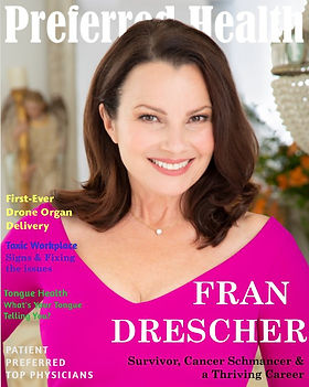 Fran Drescher, Nanny, Franni Fine, Cancer Survivor, Cancer Schmanser, Rape, Cancer Advocate