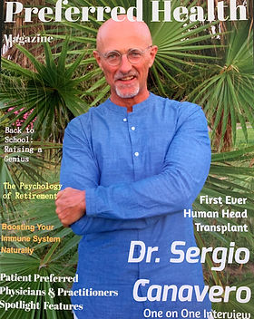 Dr. Sergio Canavero, Italian Surgeon, Head transplants