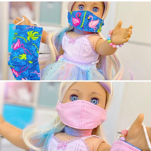 Child & Dolly Mask Set!