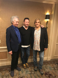 Freddi Shehadi, Julian Lennon,Bob Gruen
