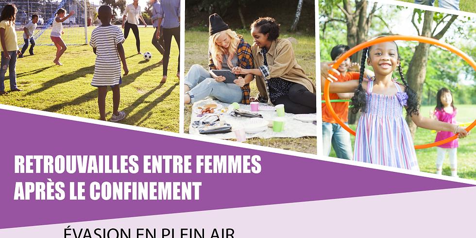 RESEAU CONTACT FEMME - RETROUVAILLES ENTRE FEMME APRÈS LE CONFINEMENT