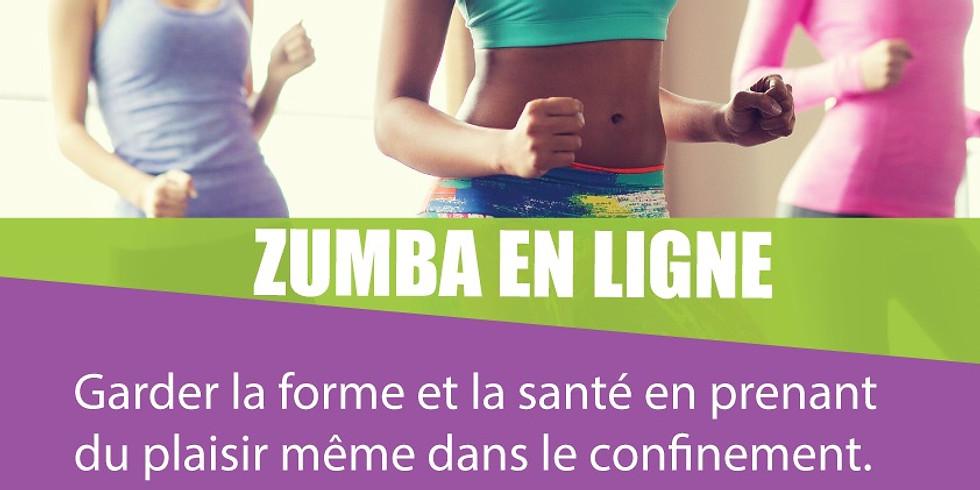 Réseau Contact Femmes  - Zumba en ligne