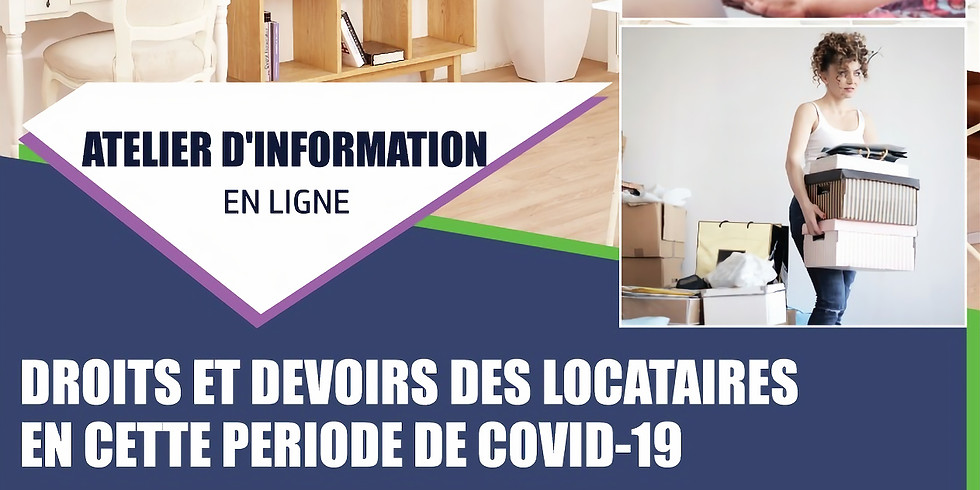 Droits et devoirs des locataires en cette periode de  COVID-19
