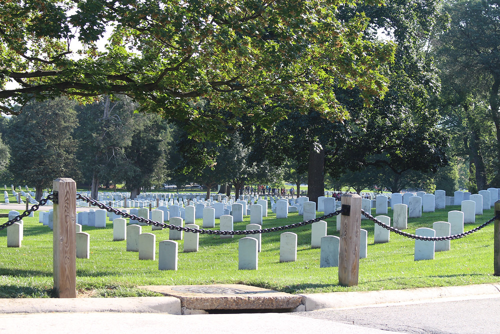 Arlington National Cemetery, Sacrifice, Gentle Haven Music, Memorial Day, Web Design,