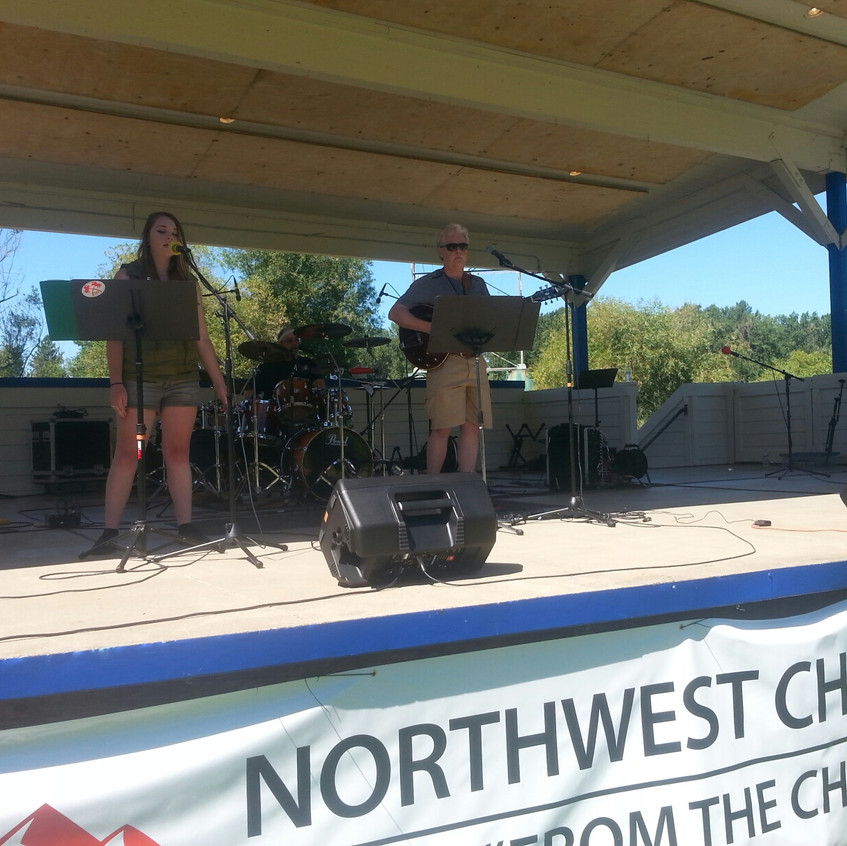 Stage Shot of Wrecknciled at NW CM Festival