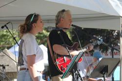 Matt and Brittany at Dalas Summerfest