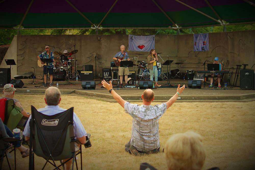 Dallas Christian Music Festival, Gentle Haven Music, Web Design