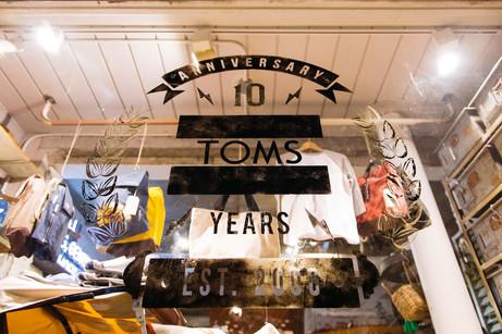 탐스 10주년 행사+Styling