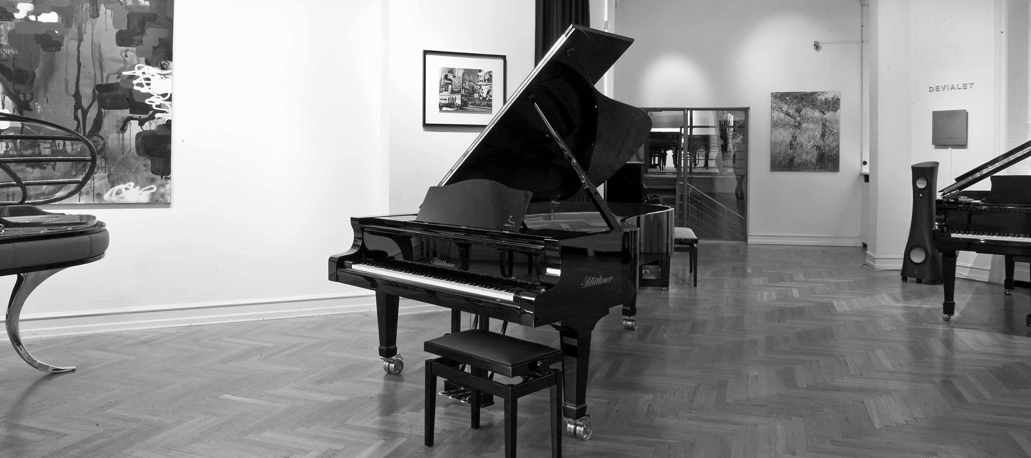 Showroom Bredgade bw - wide