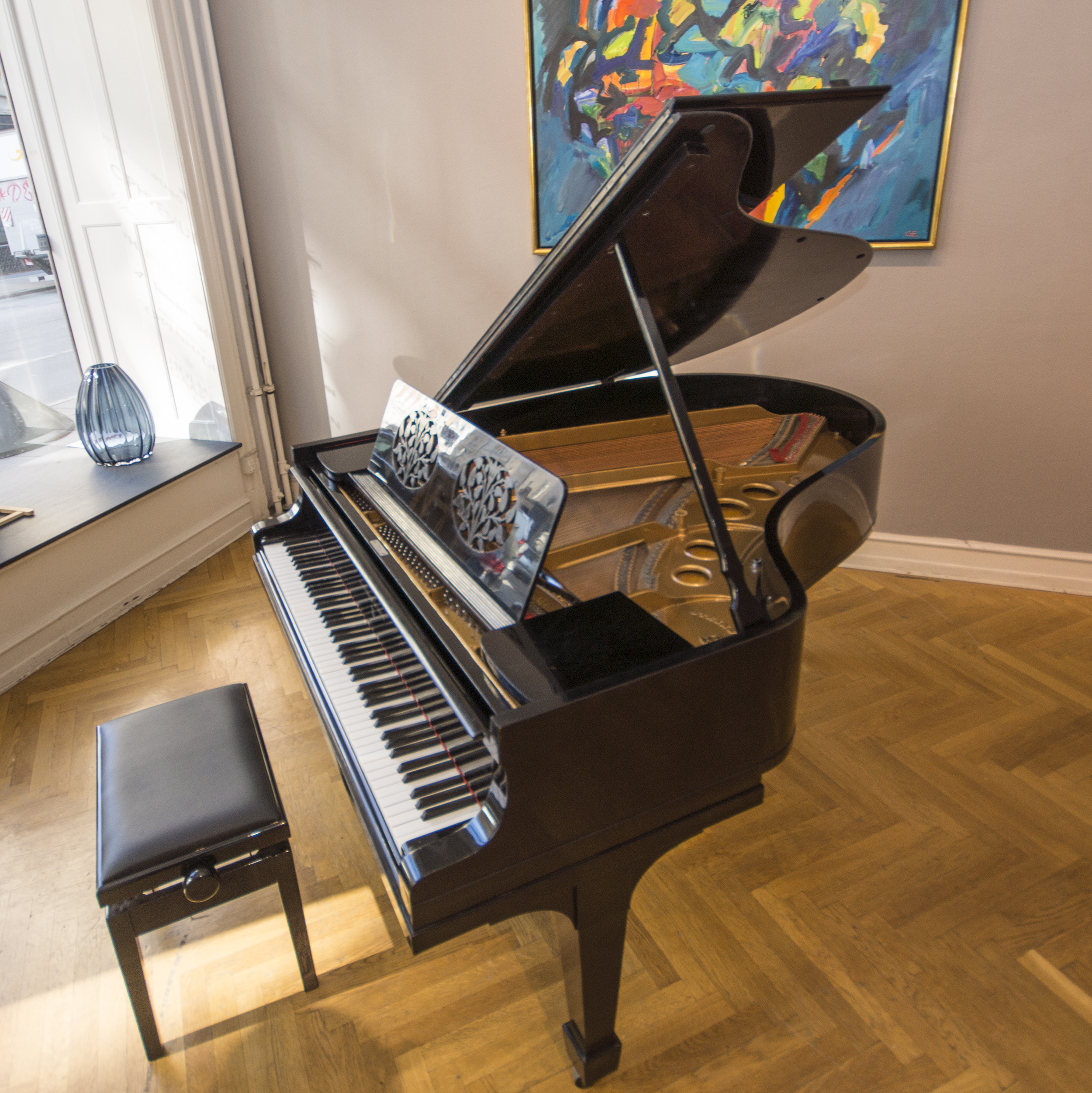 Steinway & Sons Model O 1918 top