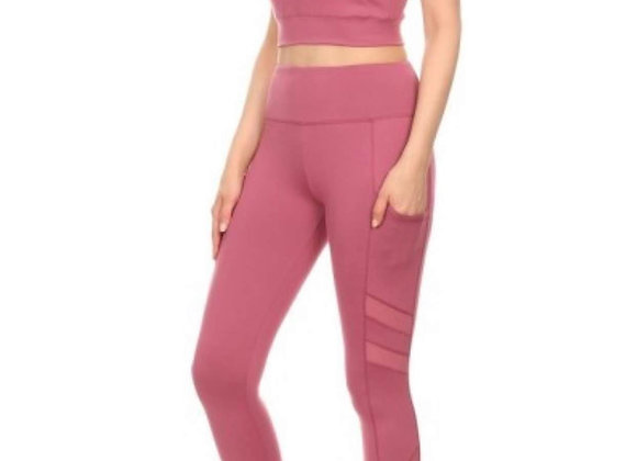 2-Piece Sports Set - Rose