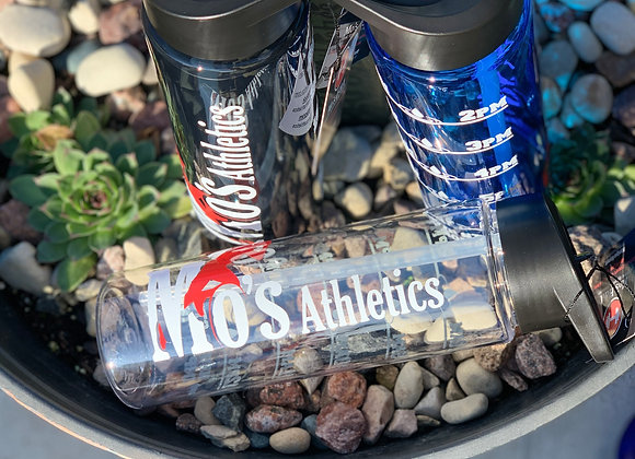 Mo's Athletics 24 oz Water Bottle w/Tracker