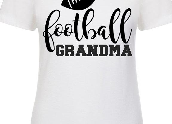 Football Family Shirt - Grandma, Niece, Cousin, Aunti, Sister