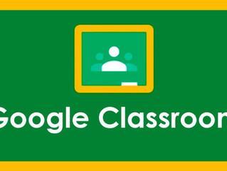 "Capacitación virtual ""Inicio en Classroom"""