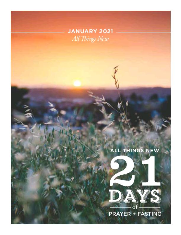 21 Days Fasting & Prayer