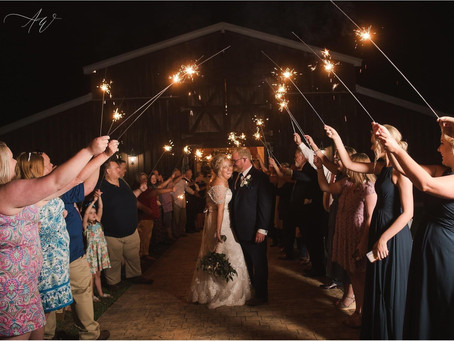Big News & A Real Life Wedding! Lacy & Kameron - Happily Ever After at the Barn - 6/12/20