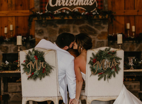Creating a Cozy Christmas Wedding - #Wednesdaywisdom